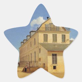Soissons, casas y fábrica de Sr. Henry Pegatina En Forma De Estrella