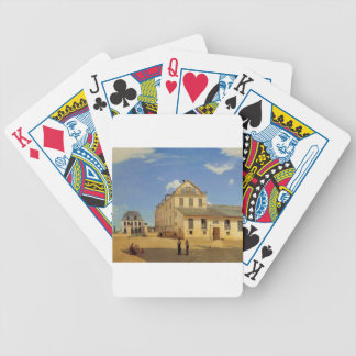 Soissons, Houses and Factory of Mr. Henry Bicycle Playing Cards