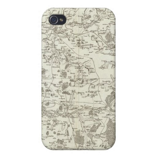 Soissons iPhone 4 Funda