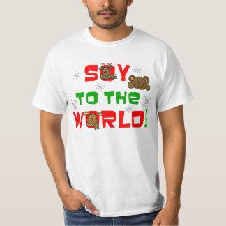 Soja al mundo camisas
