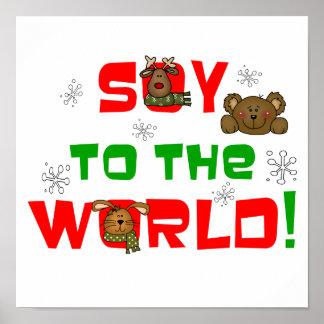 Soja al mundo póster