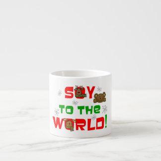 Soja al mundo taza espresso