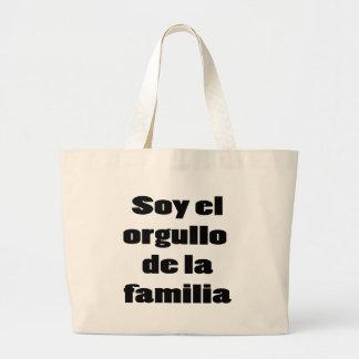 Soja El Orgullo De La Familia Bolsa Tela Grande
