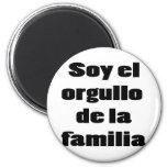 Soja El Orgullo De La Familia Imanes De Nevera