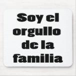 Soja El Orgullo De La Familia Tapetes De Ratón