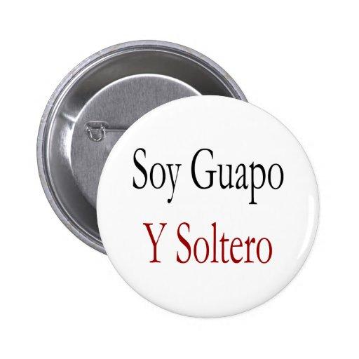 Soja Guapo Y Soltero Pins