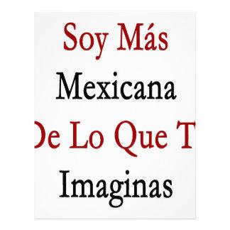 Soja Mas Mexicana De Lo Que Te Imaginas Membrete