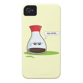 Soja qué iPhone 4 Case-Mate carcasa