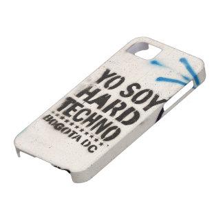 Soja Techno duro Bogotá de Yo iPhone 5 Fundas