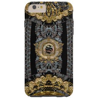 Sojeye más el viejo estilo barroco 6/6s funda para iPhone 6 plus tough
