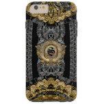 Sojeye Plus Old Baroque Style 6/6s Monogram Tough Iphone 6 Plus Case at Zazzle