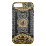 Sojeye Plus Old Baroque Style  Monogram Iphone 7 Plus Case at Zazzle