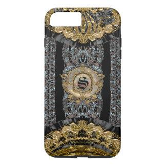 Sojeye Plus Old Baroque Style  Monogram iPhone 7 Plus Case
