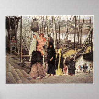 Sojourn in Egypt, 1886-1894 James Tissot Poster