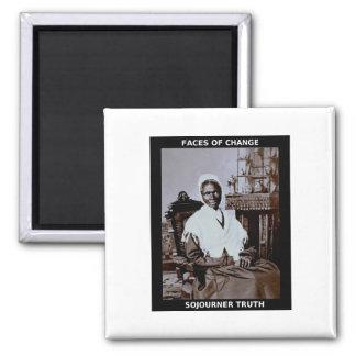 Sojourner Truth 2 Inch Square Magnet