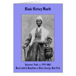 Sojourner Truth ~ Black History Month Card (small)