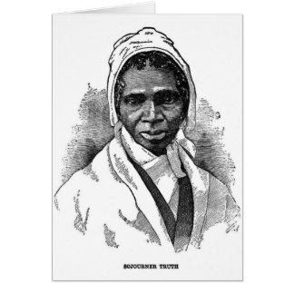 Sojourner Truth Card