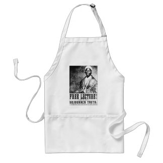 Sojourner Truth Historic Free Lecture! T-Shirt Adult Apron