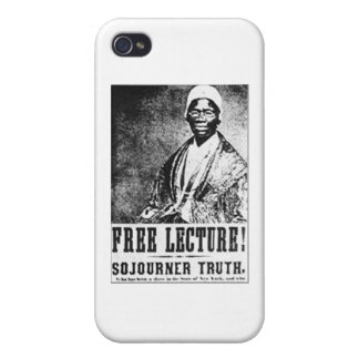 Sojourner Truth Historic Free Lecture! T-Shirt iPhone 4 Cover
