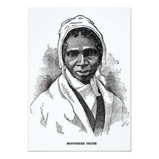 Sojourner Truth Custom Announcement