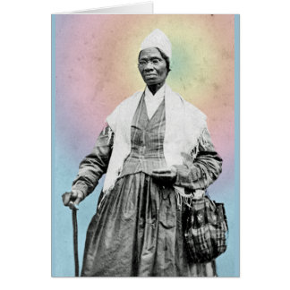 Sojourner Truth - rainbow, detail Card