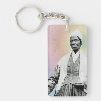 Sojourner Truth - rainbow Keychain