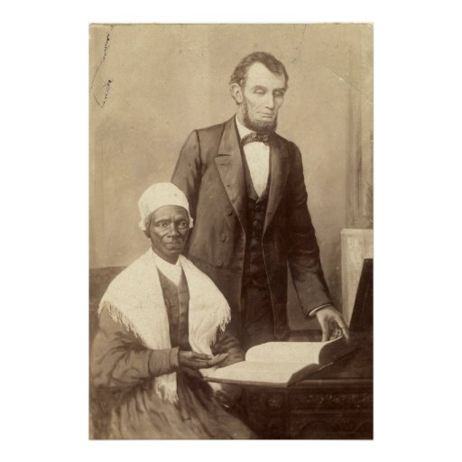 Sojourner Truth With Abraham Lincoln Posters Zazzle