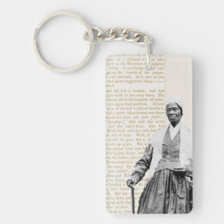 Sojourner Truth - Women's Rights Double-Sided Rectangular Acrylic Keychain