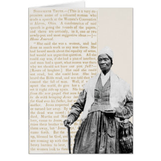 Sojourner Truth - Women's Rights Stationery Note Card