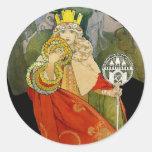 Sokol (Falcon) Festival 1912 Classic Round Sticker