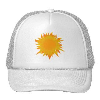 Sol brillante de Sun del verano Gorras De Camionero