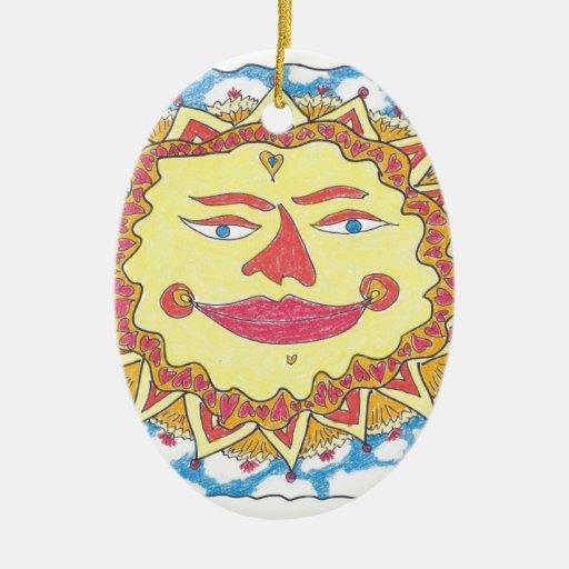 SOL CÓSMICO de Ruth I. Rubin Ornamentos De Reyes