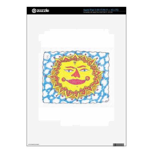 SOL CÓSMICO de Ruth I. Rubin iPad 3 Skin