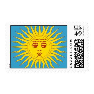 Sol de la Argentina Stamps