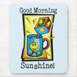 ¡Sol de la buena mañana! Alfombrilla De Ratón