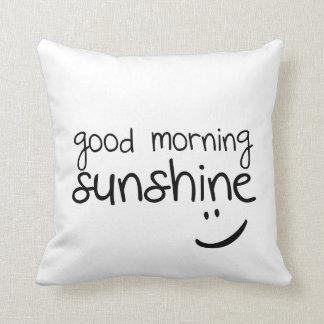Sol de la buena mañana - almohada de tiro