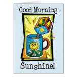 ¡Sol de la buena mañana! Felicitacion