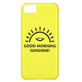 Sol de la buena mañana funda para iPhone 5C