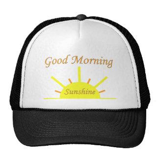 Sol de la buena mañana gorras