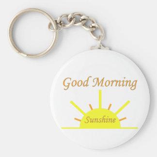 Sol de la buena mañana llavero