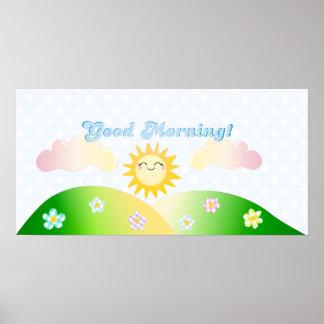 Sol de la buena mañana impresiones