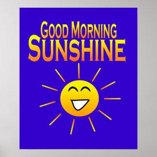 Sol de la buena mañana poster