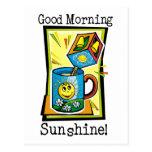¡Sol de la buena mañana! Postal