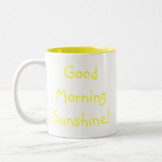 ¡Sol de la buena mañana! Tazas