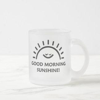 Sol de la buena mañana tazas