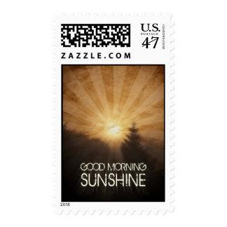 Sol de la buena mañana timbres postales