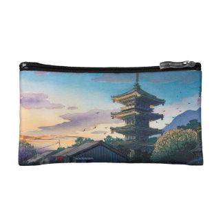 Sol de la pagoda de Nomura Yasaka de las atraccion