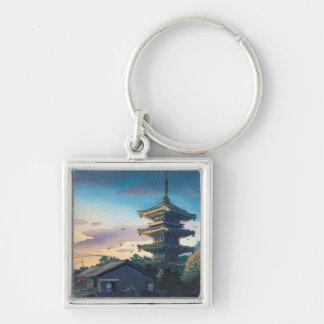 Sol de la pagoda de Nomura Yasaka de las atraccion Llaveros Personalizados