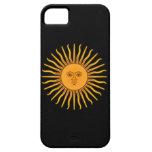 Sol de Mayo iPhone 5 Fundas