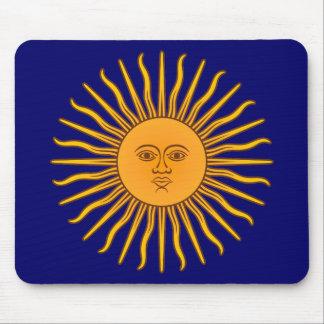 Sol de Mayo Mouse Pad